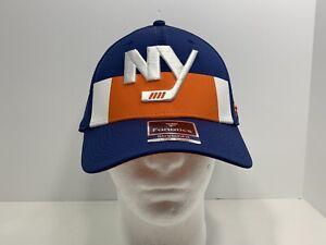 New-York-Islanders-NHL-Fanatics-Flex-Hockey-L-XL-Fitted-Cap-Blue-NEW