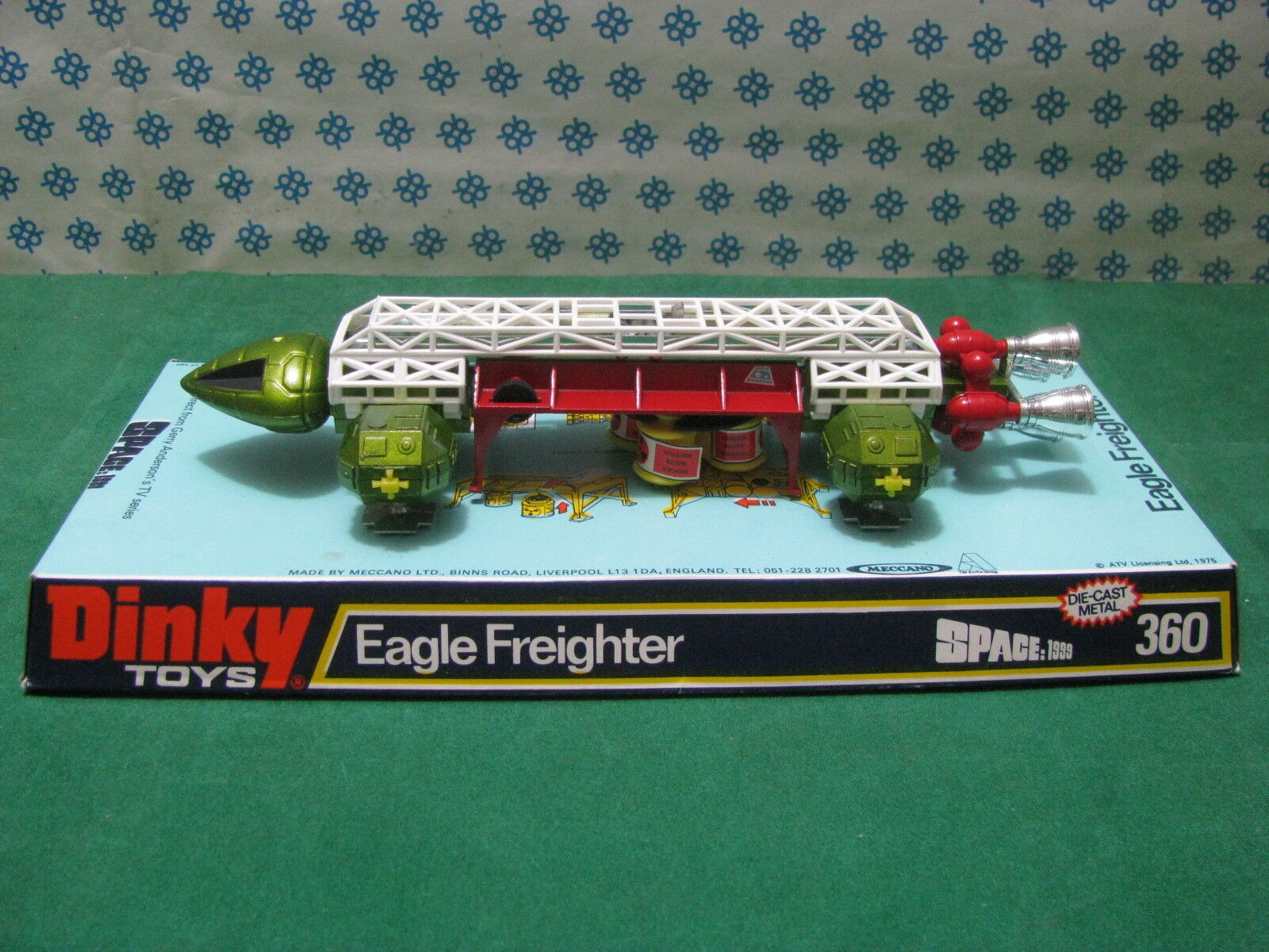 Freighter  Eagle Space 1999 Aquila spazio 1999 Gerry Anderson  - Dinky Toys MIB