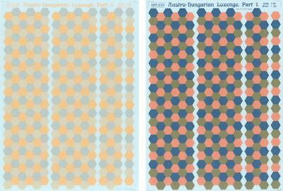 Print Scale 013-camo Austro-Hungarian Lozenge Part 1 1//48
