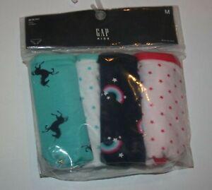 f6c924b47bec New Gap 4 Pack Panties Bikinis Underwear Medium 8 Year NWT Unicorn ...