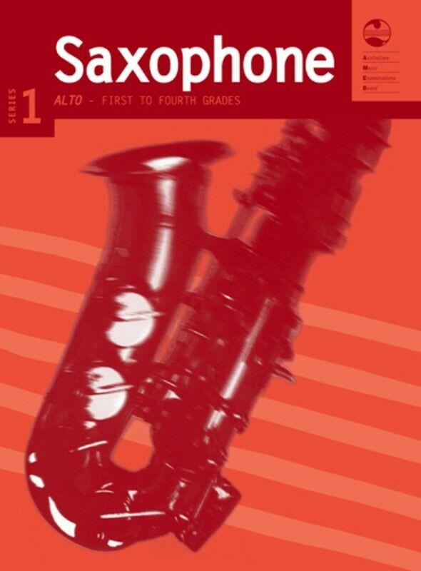 AMEB Saxofón Alto Serie 1-primero 1-primero 1-primero a cuarto grados  los últimos modelos