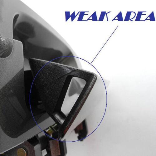 For NISSAN ALTIMA Outside Front Left B3755 K11 Smoke Met MotorKing Door Handle