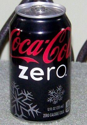 NM HOLIDAY 2011 USA LE Coca-Cola SPRITE ZERO SNOWFLAKE 12oz 355 mL FULL CAN