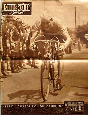 Radient Miroir Sprint N°262 - 1951 - Nello Lauredi Critérium Du Dauphiné - Ventoux - Zacht En Antislippery