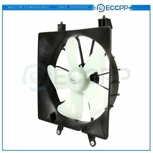 NEW 620-219 RADIATOR FAN ASSEMBLY WITHOUT CONTROLLER 2001-2005 FITS HONDA CIVIC