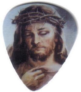 JESUS GUITAR PICKS SET OF 4