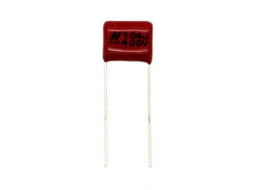 1x 0,1µF 400V 104 100nF,Metall Film Folien,Kondensator,Polypropylen Z618