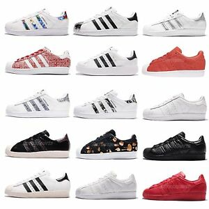 pretty nice 02dc3 b3162 Image is loading adidas-Originals-Superstar-W-Women-Classic-Casual-Shoes-