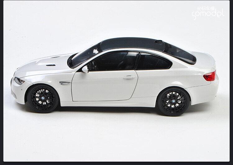 KYOSHO 08734W BMW M3 M3 M3 Coupe E92 Alpine White color 1 18 Diecast Model 4e27a0