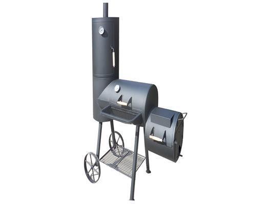 Rauchfreier Holzkohlegrill Xxl : Bbq xxl smoker holzkohlegrill barbecue kaminofen indianapolis ebay