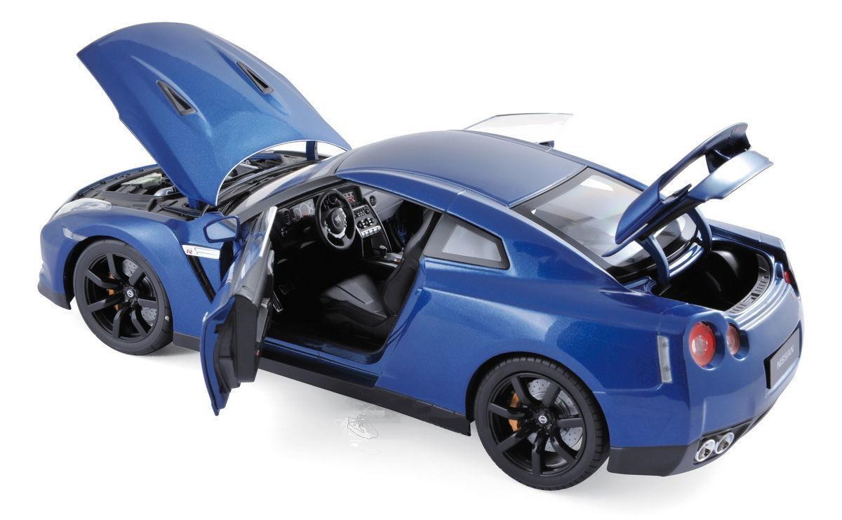 NOREV 2008 Nissan GTR R-35 bluee Metallic 1 18New Item  Very Nice Car