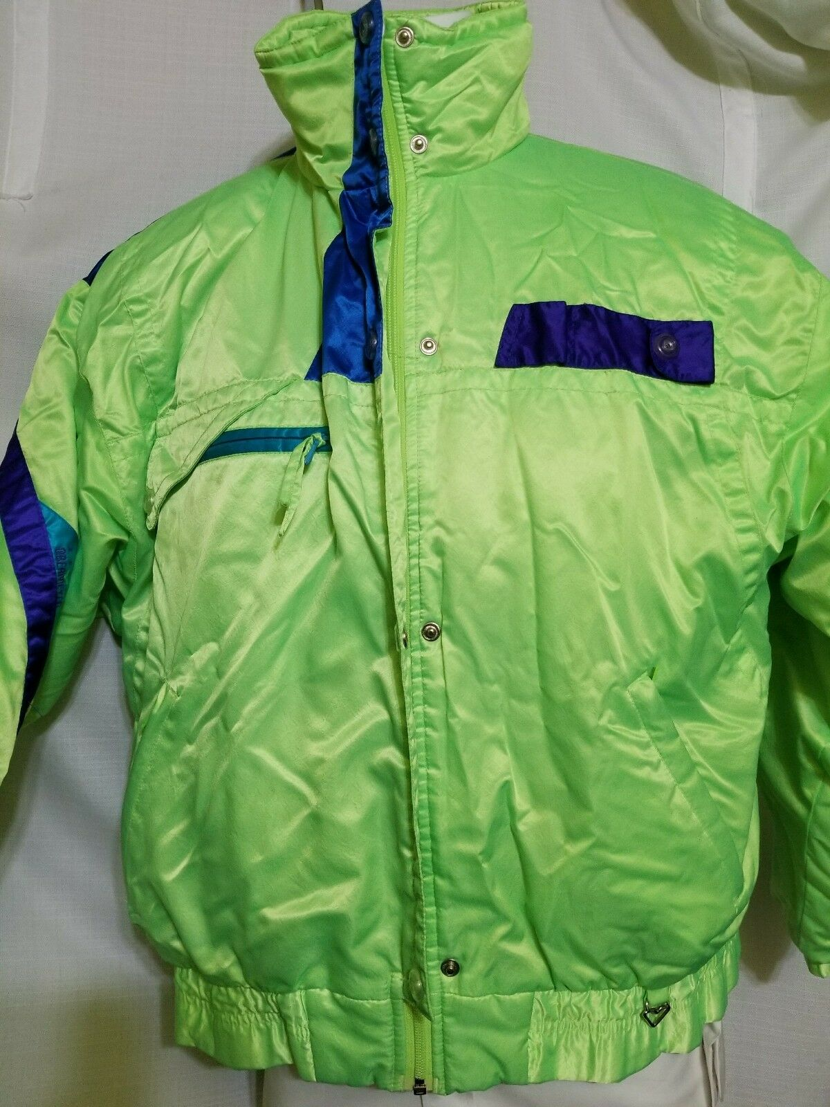 OBERMEYER Sport Windshear  Ladies Coat Neon Ski (RECCO has been removed) Size 12  the best online store offer