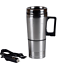 500ml-12V-Vehicle-Travel-Cigarette-Lighter-Stainless-Steel-Water-Heated-Cup-Mug thumbnail 3