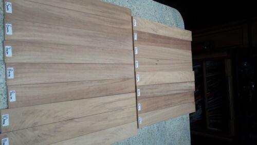 4mm-28mm Thick Iroko Hardwood Strips L900 x W74mm //Slats//Plank//Board//Strip