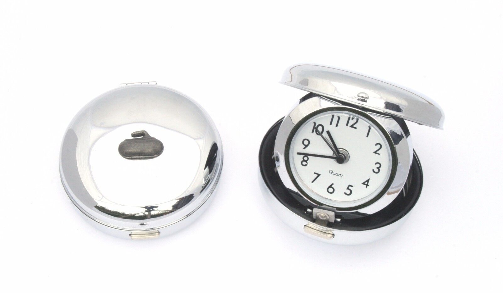 Curling Stone Style Travel Alarm Clock Quartz Ideal Curling Gift Gift Curling 01d10a
