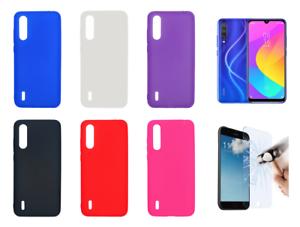 COVER per Xiaomi Mi 9 Lite CUSTODIA TPU Silicone Trasparente Doppia Protezione