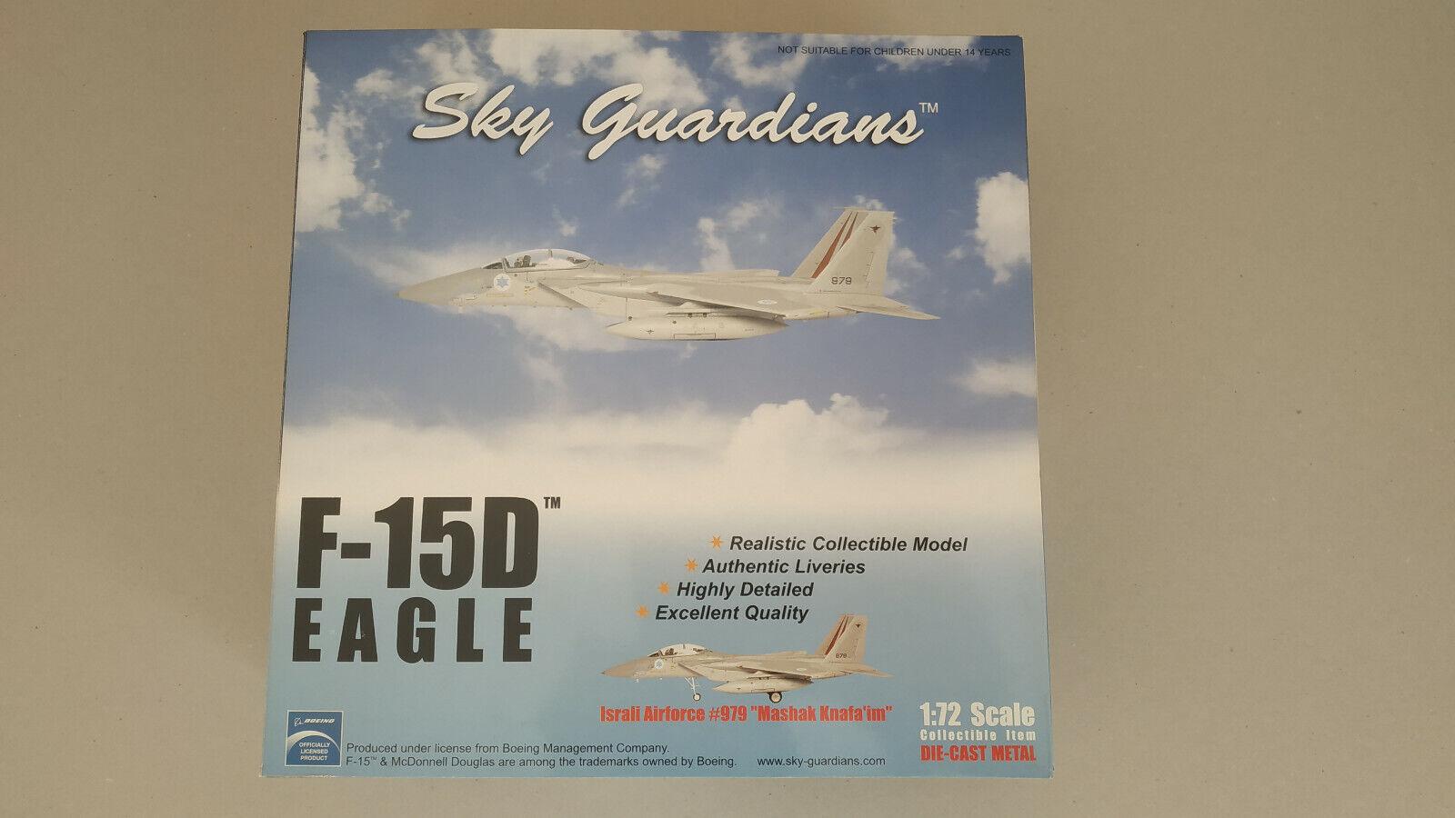 SKY GUARDIANS F-15D eAngle 1 72 Israeli Air Force 979,  Mashak knafa'im