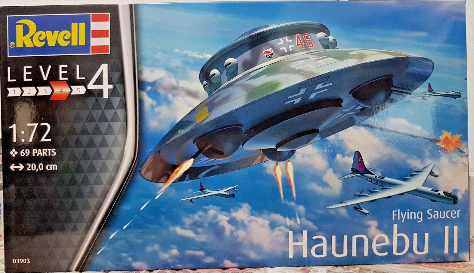 Haunebu ii ufo disco volante ii guerra - revell bausatz 1 72 - 03903.