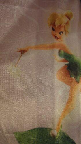 Disney Disney Fairies Tinkerbell Fairy Stripe Satin One Tab Window Panel//Drape