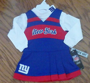 6f5231c5b Image is loading New-York-Giants-toddler-Two-piece-Cheerleader-Jumper-