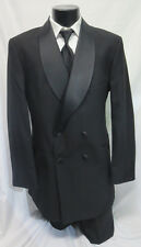 New After Six Double Breasted Tuxedo Package Shawl Classy Wedding Prom 42XL