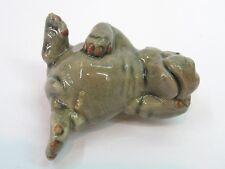 Miniature Craft Collectible Ceramic Porcelain Hippo Figurine Animal