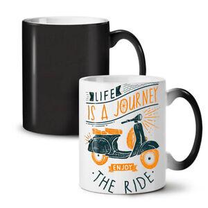 Life Is Journey NEW Colour Changing Tea Coffee Mug 11 oz | Wellcoda