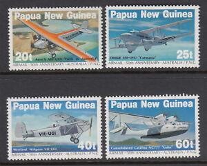 Papua New Guinea 1984 Airmail Service Anniversary