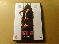 DVD / DISCLOSURE ( MICHAEL DOUGLAS, DEMI MOORE )