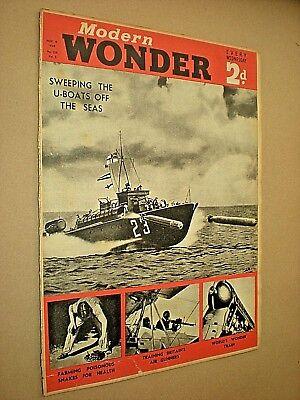 Zonnig Modern Wonder Magazine. Vintage Illustrated Mag. November 4th 1939