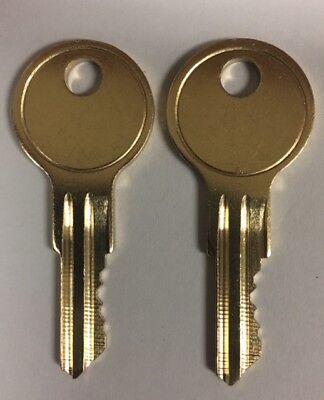 Hon or Allsteel File Cabinet Keys Office Furniture 101E to 150E Desk Lock Key