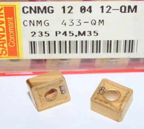 CNMG 433 QM 235 SANDVIK INSERT