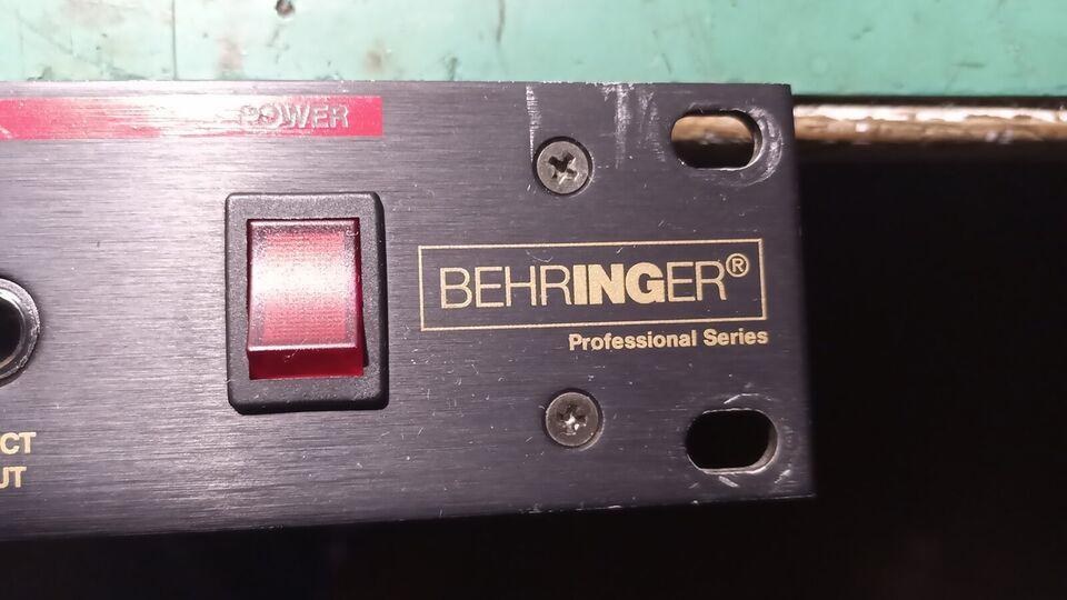 Hovedtelefon forstærker, Behringer HPA1