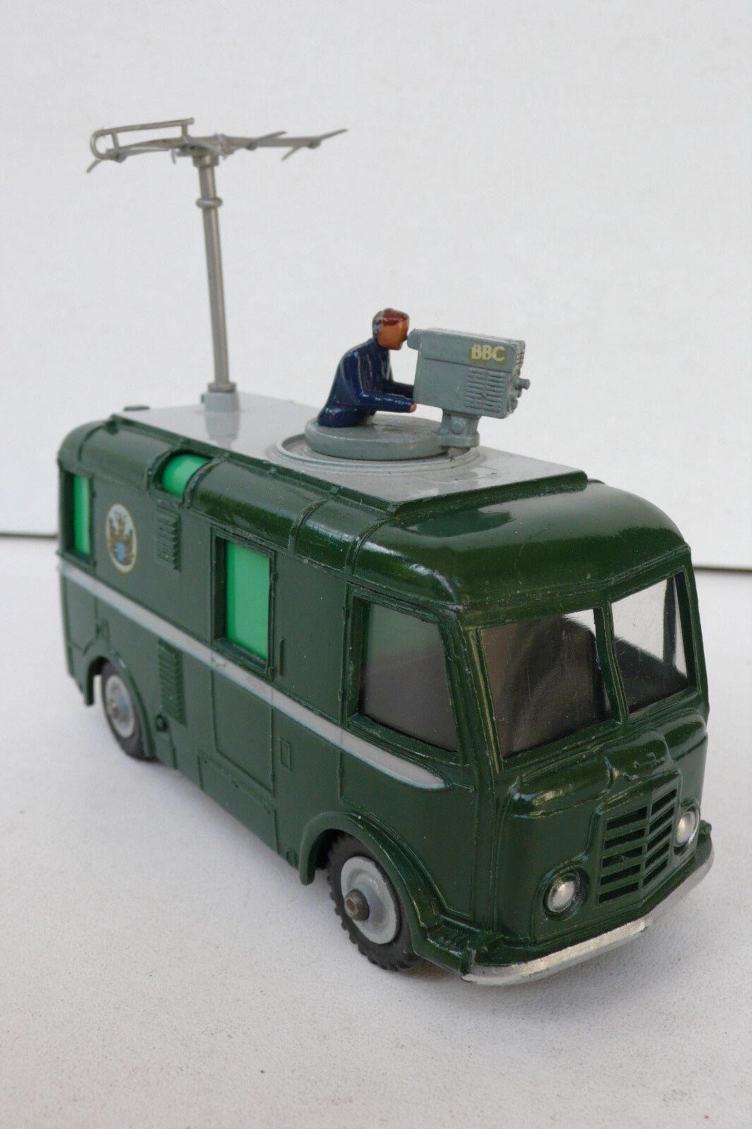 DINKY TOYS  ENGLAND COMMER  BBC TV ROVING EYE   REF 968  59 64  BON ÉTAT  expédition rapide
