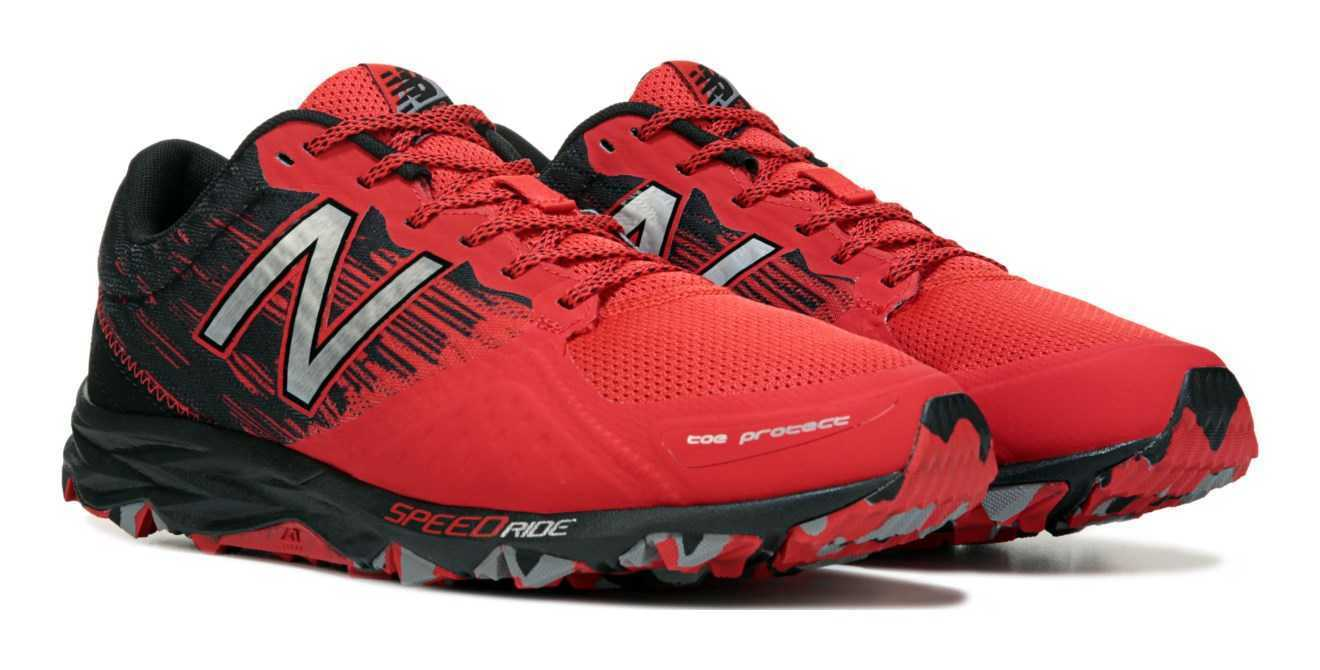 NIB New Balance MEN'S MT690L2 690 V2  4E WIDE TRAIL RUNNING SHOES  Red 590 412
