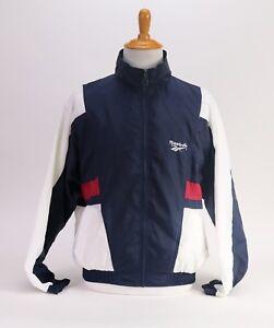 c3e9c7268eae Image is loading Reebok-Windbreaker-Men-039-s-Jacket-Vintage-90s-