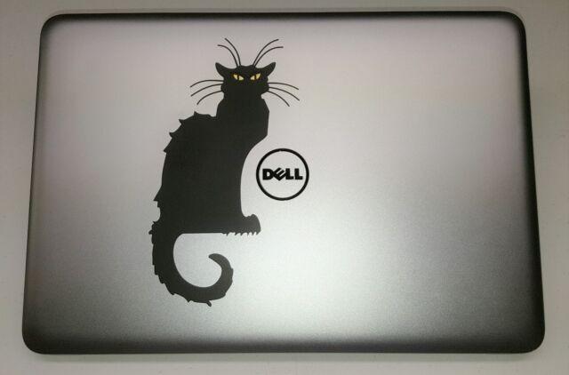 San Francisco 2e344 03123 Le Chat Noir Cat Decal Sticker for Apple Mac Book Air/Pro Dell Laptop 13
