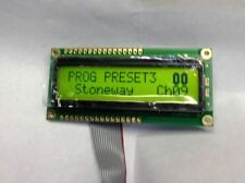 REPLACEMENT LCD GREEN DISPLAY FOR ALESIS QS6 QS7 QS8 KEYBOARDS NEW PLUG AND PLAY