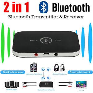 2 in 1 3,5mm Wireless Bluetooth Empfänger Sender Adapter Musik Audio Receiver
