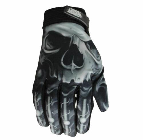 SKULL HAND GL15004 L Handschuhe LETHAL THREAT