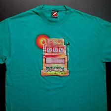 Grateful Dead Shirt T Shirt Spring 1990 Slot Machine Tour Laminate 1990s GDP XL