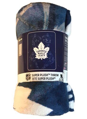 Toronto Maple Leafs 4-Player Super Plush Throw Matthews Marner Nylander Tavares