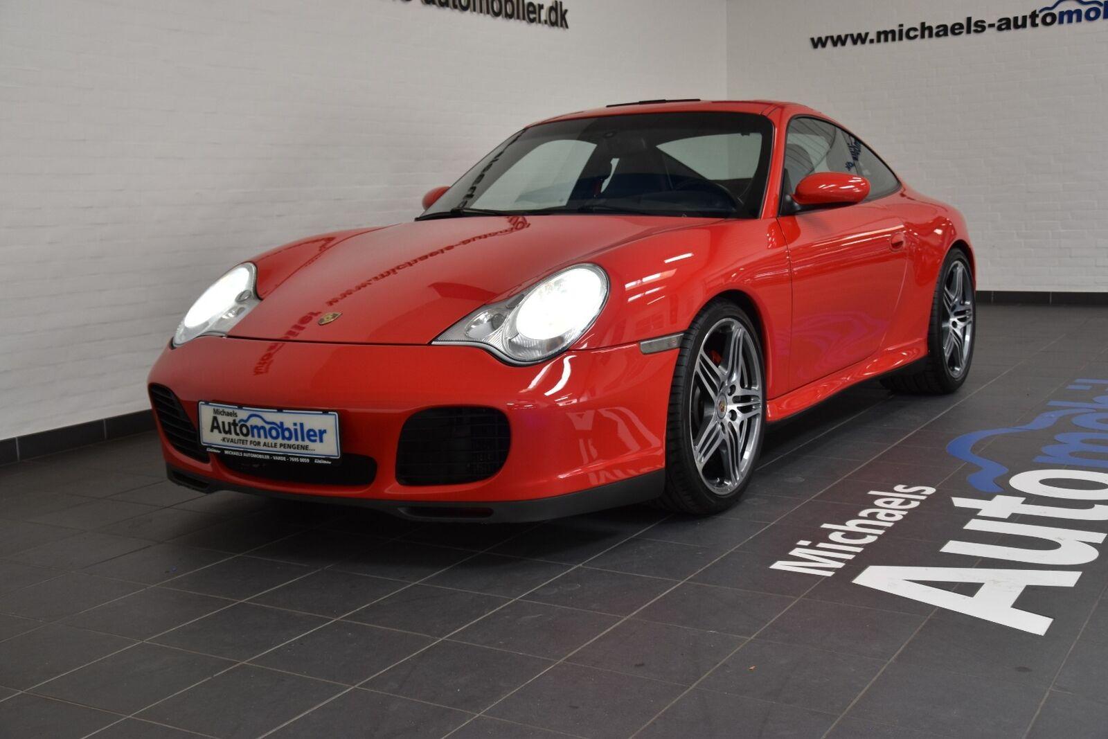 Porsche 911 Carrera 4S 3,6 Coupé 2d - 3.852 kr.