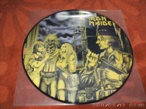 Iron-Maiden-First-Ten-Years-Women-In-Uniform-Picture-Disc-Ultra-Rare