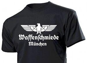 Camiseta-Waffenschmiede-Munich-con-Aguila-Gr-3-5XL-Aguila-Arma-Herrero