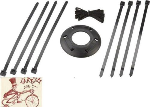 G-SPORT GLAND MKIV BLACK NYLON REAR BMX BICYCLE HUBGUARD