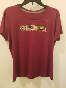 competitive price 434ce 686ed Details about Womens Nike Dri Fit IUPUI Jaguars Cross Country Athletic  Shirt Size Large