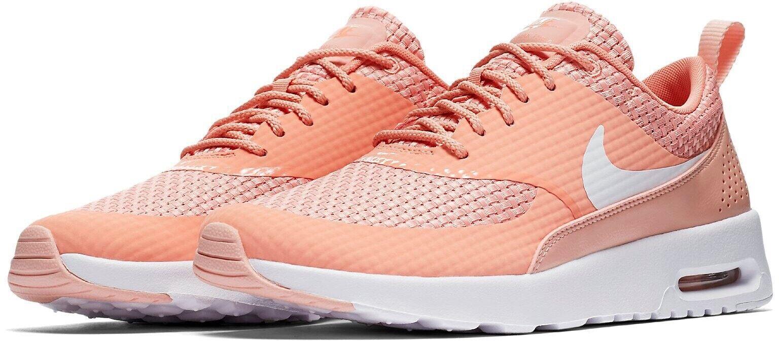 Nike Air Max Thea Premium 616723-605 Crimson Bliss UK 5 EU 38.5 US 7.5 New