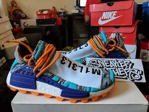 new high united states affordable price Details about Adidas x PW Solar Pack Hu NMD Pharrell Williams Human Race  Aqua Black BB9528