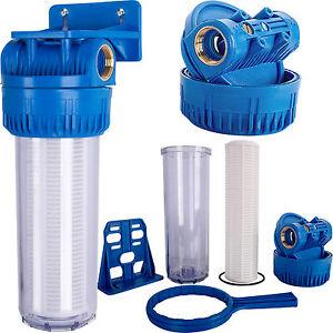 wasserfilter vorfilter 5000 l h pumpenfilter filter pumpen hauswasserwerk 18 ba ebay. Black Bedroom Furniture Sets. Home Design Ideas